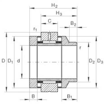 Complex Bearings ZARN45105-L-TV INA