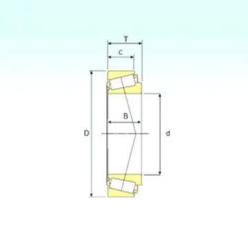 tapered roller thrust bearing 33013 ISB