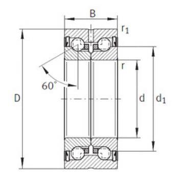 thrust ball bearing applications ZKLN50110-2Z INA