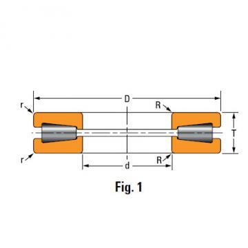TTHD THRUST ROLLER BEARINGS T811