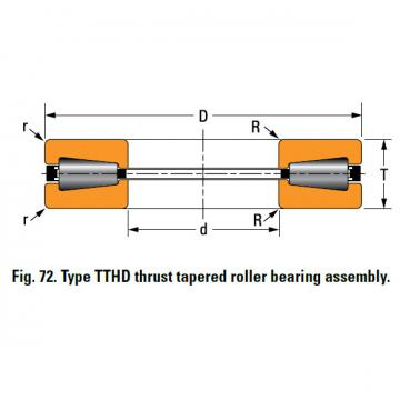 TTHD THRUST ROLLER BEARINGS N-3239-A