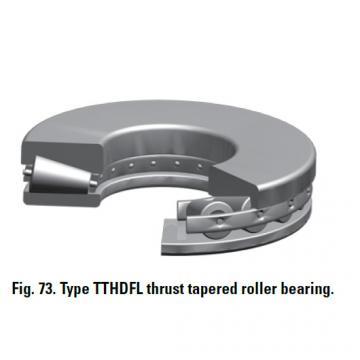TTHDFL thrust tapered roller bearing E-1994-C