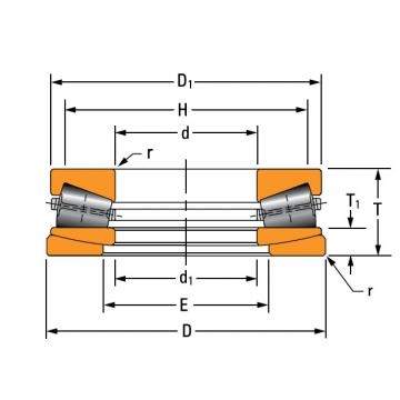 TTHDFLSA THRUST TAPERED ROLLER BEARINGS B–8073–C