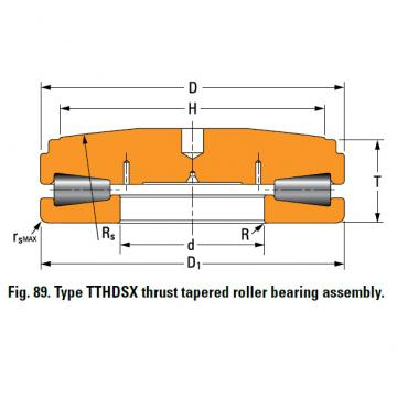 SCREWDOWN BEARINGS – TYPES TTHDSX/SV AND TTHDFLSX/SV T511FS-T511SB
