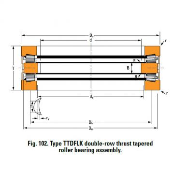 THRUST ROLLER BEARING TYPES TTDWK AND TTDFLK 13200F Thrust Race Single