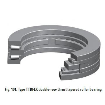 THRUST ROLLER BEARING TYPES TTDWK AND TTDFLK T10400F Thrust Race Double