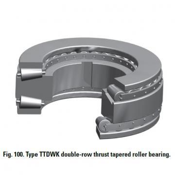 THRUST ROLLER BEARING TYPES TTDWK AND TTDFLK T8110 Thrust Race Single