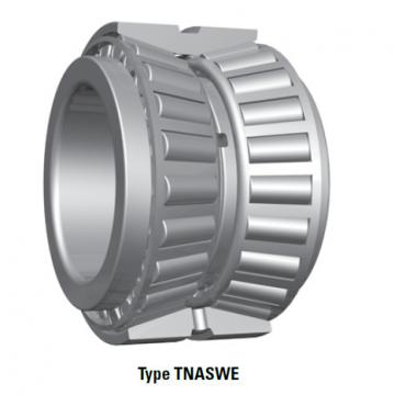 Tapered Roller Bearings double-row TNASWE NA56393SW 56649D