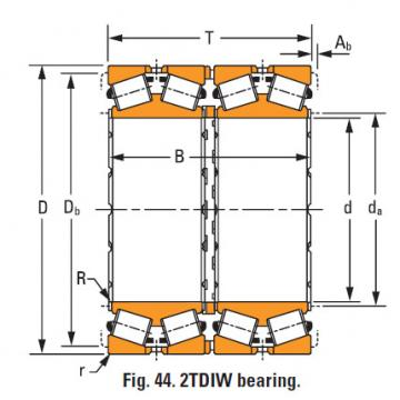 four-row tapered roller Bearings 8576dw 8520cd