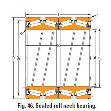 Timken Sealed roll neck Bearings Bore seal O-ring