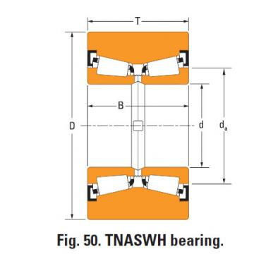 Tnaswh Two-row Tapered roller bearings ll20949nw k103254