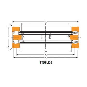TTdFlk TTdW and TTdk bearings Thrust race single T1080fa