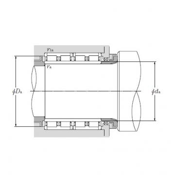Four Row Cylindrical Roller Bearings NTN 4R2437