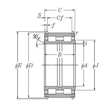 SL Type Cylindrical Roller Bearings for Sheaves NTN SL04-5030NR