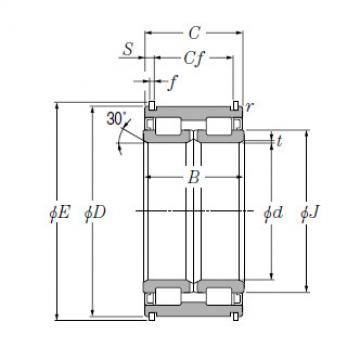 SL Type Cylindrical Roller Bearings for Sheaves NTN SL04-5056NR