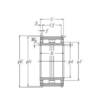 SL Type Cylindrical Roller Bearings for Sheaves NTN SL04-5024NR