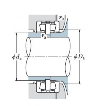 DOUBLE ROW TAPERED ROLLER BEARINGS JAPAN BRAND 305KDH5004