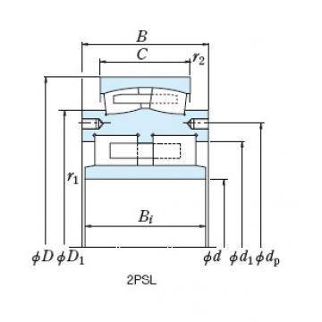 Roll Bearings for Mills NSK 3U50-1A