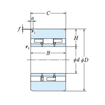 Roll Bearings for Mills NSK 3PL180-2