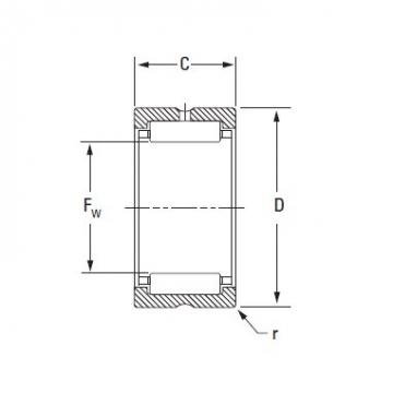 Timken ROLLER BEARING HJ-8010440