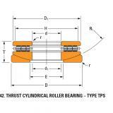 TPS thrust cylindrical roller bearing 120TPS151
