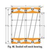 Timken Sealed roll neck Bearings Bore seal k161253 O-ring